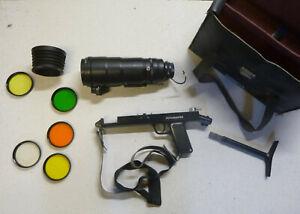 Zenit ES Photo Sniper Tair Set Fotosnaiper FS122-2 Objektiv Farbfilter Pistole