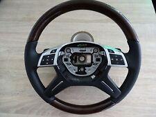 1 MERCEDES VOLANTE IN LEGNO W166 VOLANTE GL ML CLASSE G W463 AMG Volante legno