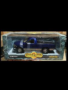 1997 Ford pickup BLUE 1:18 Ertl American Muscle 7225