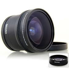 Occhio di pesce 180 ° Fisheye Per Canon EOS 550d 600d Series 18-55mm Telecamere Obiettivo