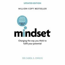 Mindset - Updated Edition: Changing The Way You think To Fulfil Your Potential by Carol Dweck (2017, Paperback)