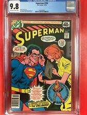 SUPERMAN #330 CGC MT 9.8 SWAN ART GIORDANO ANDRU COVER