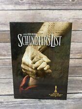 Schindler's List DVD Digibook Steven Spielberg 1991 WW2 Holocaust Film VG