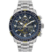 Citizen Men's Blue Angels Skyhawk Eco-Drive Atomic Time Keeping Watch JY8078-52L