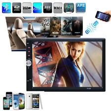 Bluetooth In Dash Car Touch USB/SD/MP3/MP5 Player AUX FM Radio Stereo Double DIN