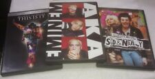 MICHAEL JACKSON THIS IS IT,EMINEM AKA,SID VICIOUS & NANCY  MUSIC,VIDEO DVD's