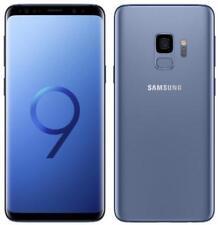 Samsung Galaxy S9 SM-G960U - 64GB - Coral Blue (Unlocked) (Single SIM)