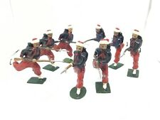 Britains Zouaves (ref W 354) French North American Soldiers, 2 Dated 9-5-1905