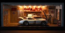 1:18 cmc a-026 Limited 35 diorama Rudolf uhlenhaut mercedes-benz 300 SLR nuevo rar