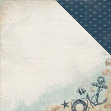 Kaiser Craft High Tide 12 X  12 Inches Cardstock Paper Overboard