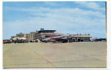 Greater Pittsburgh Airport Airplane Planes Pennsylvania postcard