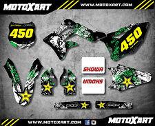 Kawasaki KXF 450 2012 - 2015 Decal kit GRAFFITI STYLE Full Graphics / stickers