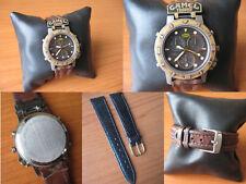 "CAMEL TROPHY ""GREEN BELT"" 3S10 Alarm Chrono - Vintage Watch Orologio anni '80"
