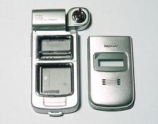 Silver Housing fascia facia cover case faceplate for Nokia N93
