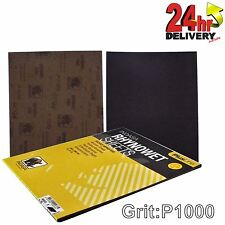 Indasa Rhynowet Plusline C00033 Sanding Sheets 230x280mm 1000 Grit 25 Sheets