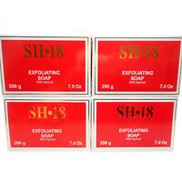 4 Pack SH-18 Skin Lightening Exfoliating Soap Apricot Jabon Blanqueador de Piel