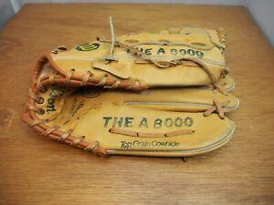 PAIR of Wilson Pro-Back 'The A 8000' Right-hand Throw Baseball Mitt, Gloves