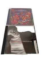 Lot 2 Music CDs Latin Rock Salsa Jazz Fusion Santana Supernatural Marc Anthony