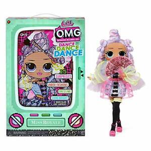LOL Surprise OMG Dance Miss Royale Fashion Doll 15 Surprises Mar.1,21