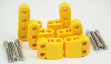 New Yellow Ignition Lead Wire Separators with Vertical Mounts Suit 7-9mm