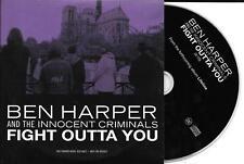 CD CARTONNE CARDSLEEVE COLLECTOR 1T BEN HARPER FIGHT OUTTA YOU 2007 TBE
