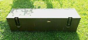 Holzkiste; Holz- Kiste Transport-/ Aufbewahrung(s) Box oliv, BW