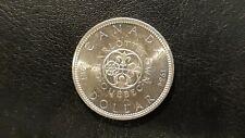 1964 CANADA SILVER DOLLAR CHARLOTTETOWN QC $1 Coin UNCIRCULATED???