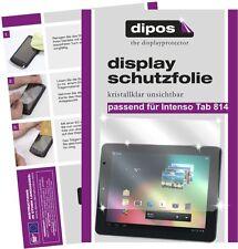 2x Intenso Tab 814 Schutzfolie klar Displayschutzfolie Folie dipos Displayfolie