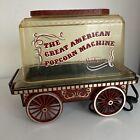 Vintage  Sunbeam The Great American Popcorn Machine Corn Popper Wagon Popcorn