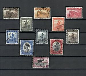 CONGO AFRICA BELGIUM COLONIES POSTALLY  USED SET OF STAMP  LOT (BELGE 504)