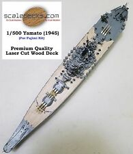1/500 Yamato Wood Deck by Scaledecks.com (fits Fujimi 1945 CONFIGURATION)