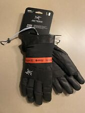Arcteryx Mens Sabre Ski Gloves Black Large Brand New With Tags
