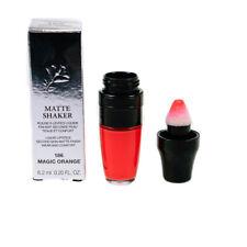 Lancome Orange Liquid Lipstick Matte Shaker 186 Magic Orange