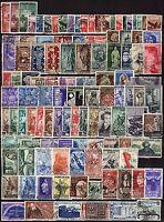 Repubblica - Lotto di 112 francobolli, 1945/53 - Usati
