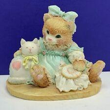 Calico kitten cat enesco figurine Hillman 627933 Friendship sewn by stitch craft