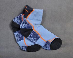 Darn Tough Hiker 1/4 Crew Cushion Midweight Sock Women's Large Denim