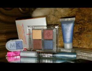 *4pc Lot* NIB Mary Kay BLUE eyeshadow  liner palette cream shadow metallic signa
