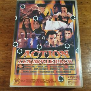 10 Movie Pack Action DVD 36 Hours to Die Blind Vengeance Broken Bars