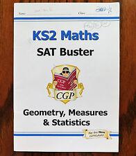 KS2 Maths SAT Buster Geometry Measures Statistics workbook SATS book Key Stage 2