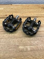 """VP-777 Bike Pedals - BLACK 1/2"""" for 1 Piece Cranks - BMX Mongoose Decade F2"""
