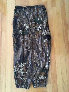 Youth size Large Gamehide Hush Hide Mossy Oak Break Up Soft Quiet Hunting Pants