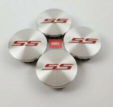 4PCS 2016-2020 Chevrolet CAMARO SS Silver Center Caps FITS: 6TH GENERATION WHEEL