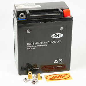 JMT Gel Batterie YB12AL-A2 12V Gel BMW F G 650 CS GS ST Scarver ABS Dakar Sertäo