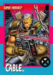 CABLE / X-Men Series 1 (Impel 1992) BASE Trading Card #19