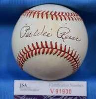 Pee Wee Reese Signed Jsa Coa National League Onl Baseball Autograph Authentic