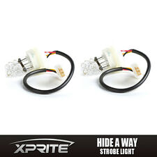WHITE Bulbs HID Hide A Way Flash Strobe Tube Spare Replacement Lights 2PCS