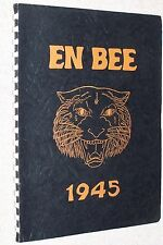 1945 North Baltimore High School Yearbook Annual N Baltimore Ohio OH - En Bee