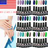 6Bottles UV Gel Nail Polish Set Soak off Color Varnish Manicure MEET ACROSS DIY