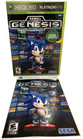 Sonic's Ultimate Genesis Collection W Manual Xbox 360 Game