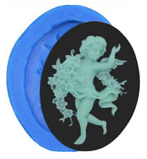 Dancing Fairy / Angel Small Silicone Mold for Fondant, Gum Paste & Chocolate